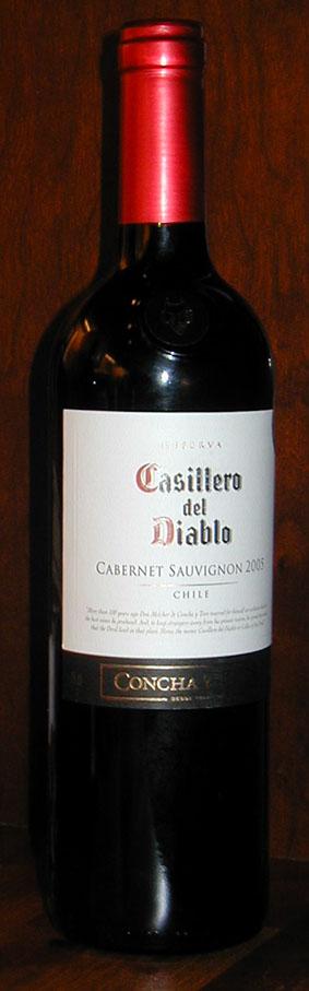 Casillero del Diablo Cabernet Sauvignon ( Concha y Toro ) 2005