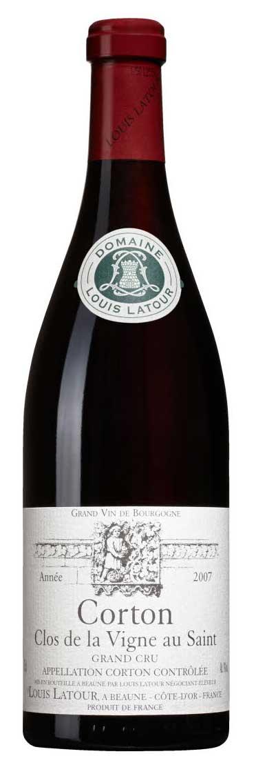 Corton Grand Cru Clos de la Vigne au Saint ( Louis Latour ) 2011
