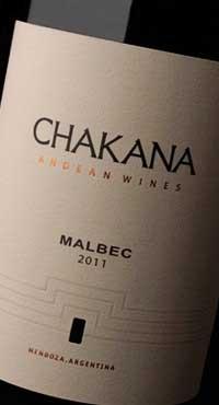 Malbec ( Chakana Wines ) 2011