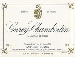 Gevrey Chambertin La Justice ( Domaine Antonin Guyon ) 2005