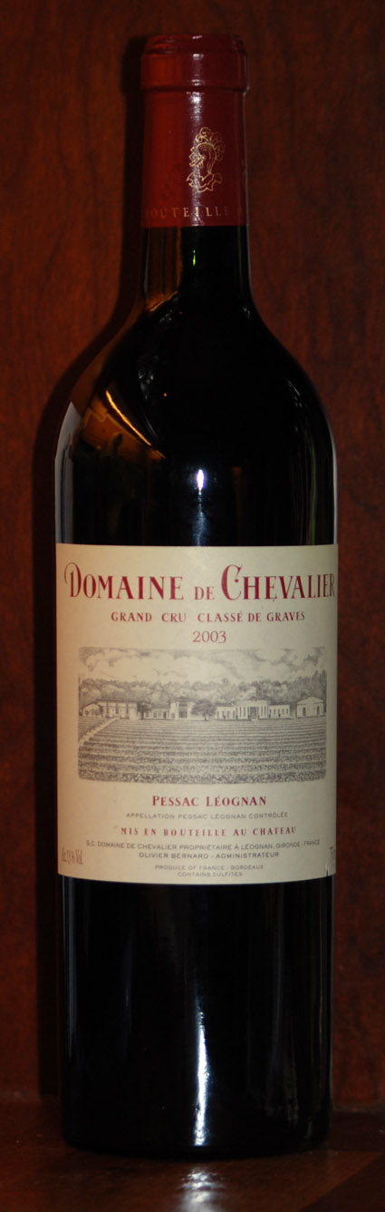 Domaine de Chevalier ( Domaine de Chevalier ) 2012
