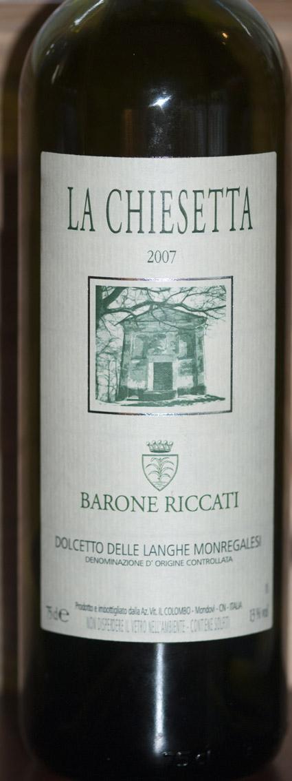 Dolcetto La Chiesetta ( Barone Riccati ) 2005
