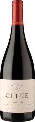 Sonoma Coast Pinot Noir ( Cline Cellars ) 2014