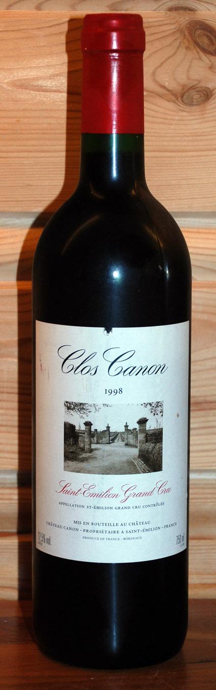 Clos Canon ( Château Canon ) 1998