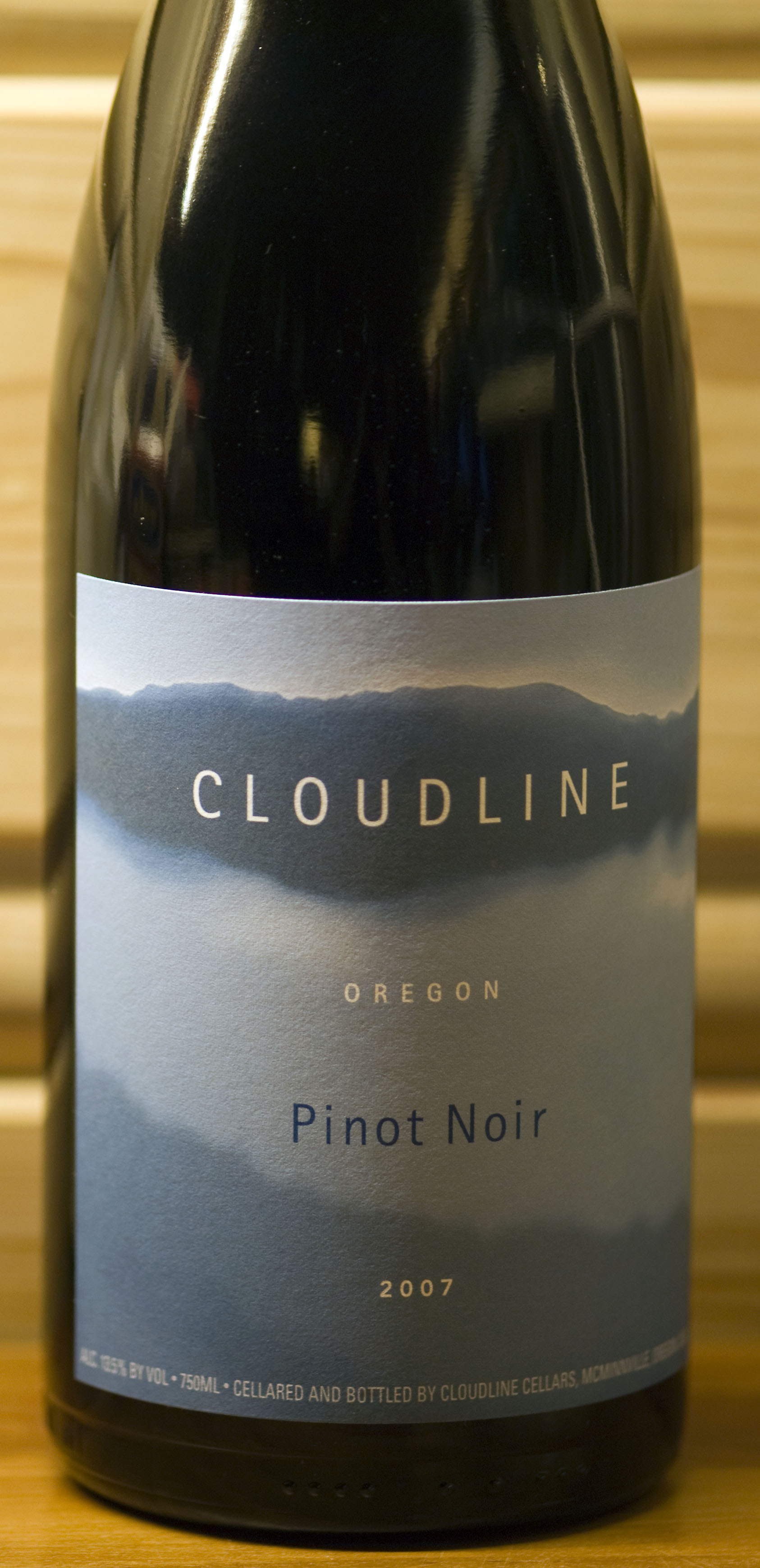 Pinot Noir ( Cloudline Cellars ) 2007