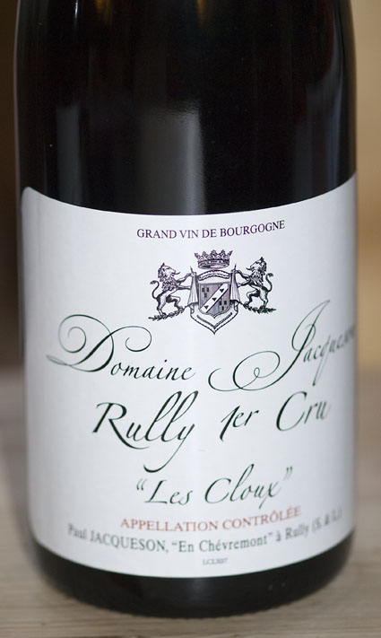 Rully 1er Cru les Cloux ( Jacqueson ) 2007