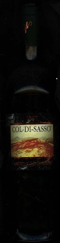 Col-Di-Sasso Sangiovese and Cabernet Sauvignon ( Banfi ) 1997