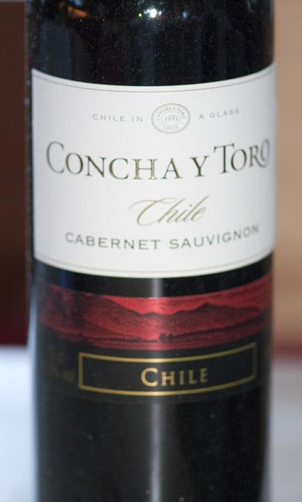 Cabernet Sauvignon ( Concha y Toro ) 2009