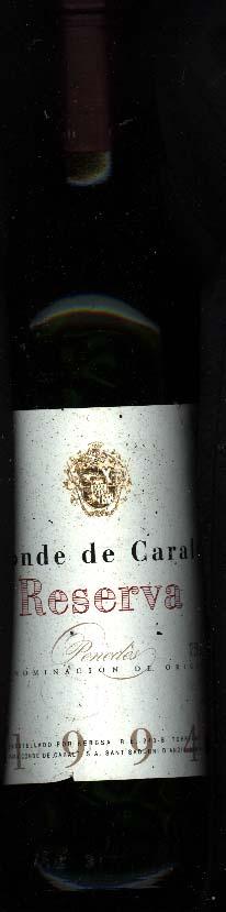 Conde de Caralt Reserva ( Freixenet ) 1994