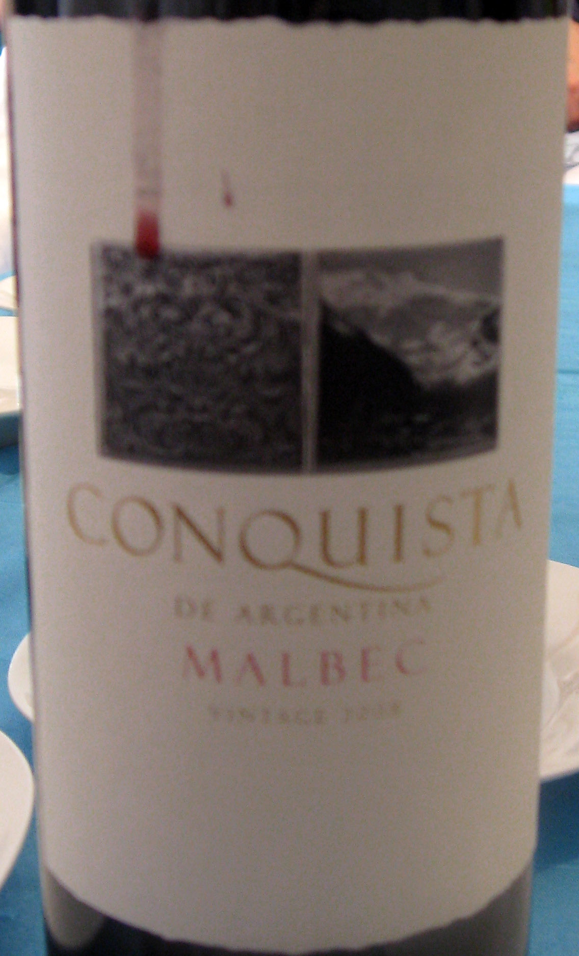Conquista Malbec ( Bodega K70730 ) 2008