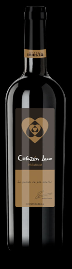 Corazón Loco Premium ( Bodega Iniesta ) 2014