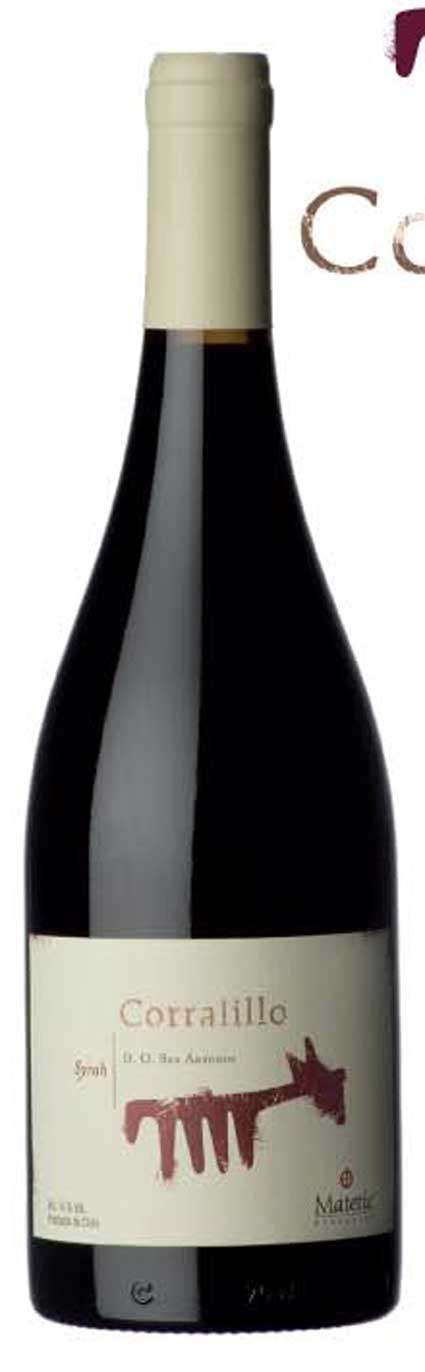 Corralillo Syrah ( Matetic Vineyards ) 2010