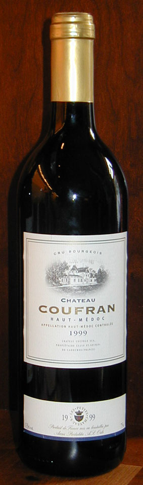Chateau Coufran ( Chateau Coufran ) 1999