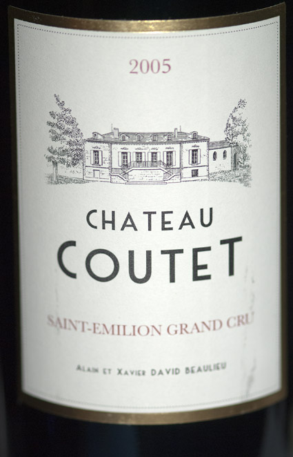Château Coutet Saint-Emilion Grand Cru ( Château Coutet ) 2015