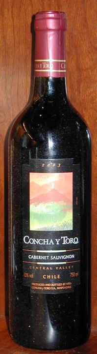 Cabernet Sauvignon ( Concha y Toro ) 2005