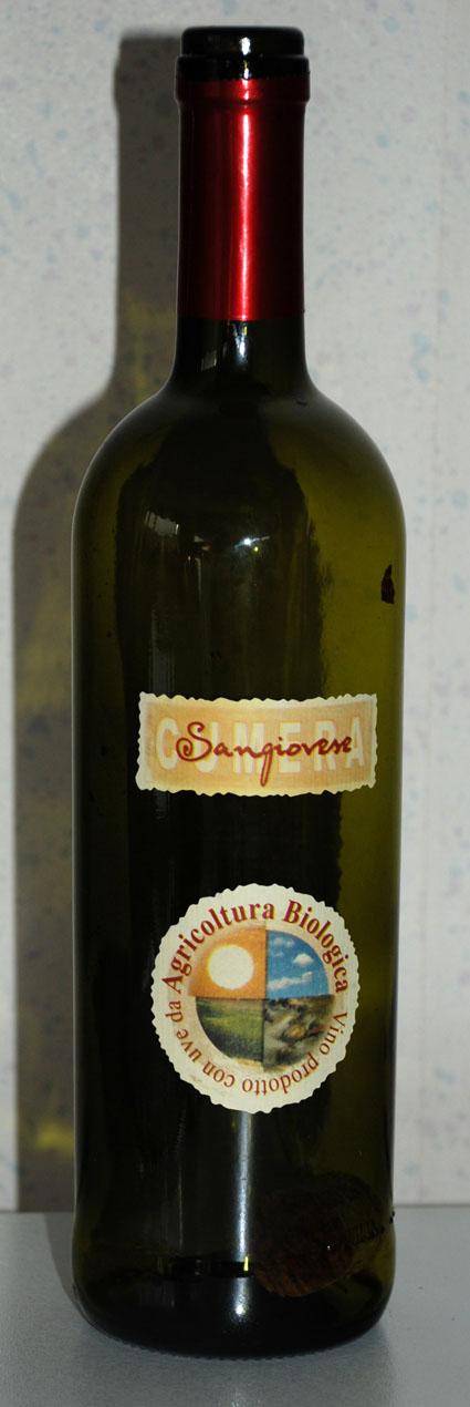 Cumera Organic Sangiovese ( Cantine Volpi ) 2002