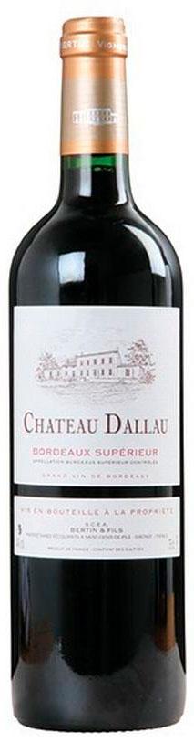Bordeaux Supérieur ( Château Dallau ) 2012