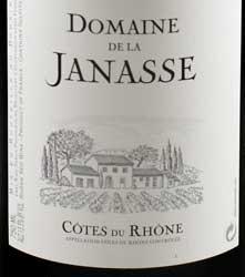 Côtes du Rhône ( Domaine de la Janasse ) 2013