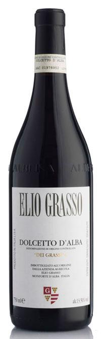 Dolcetto d`Alba dei Grassi ( Elio Grasso ) 2008