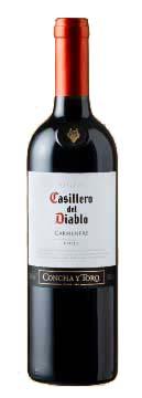 Casillero del Diablo Carmenere ( Concha y Toro ) 2012