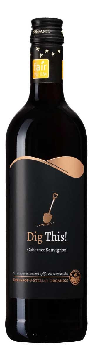 Dig This! Cabernet Sauvignon Organic ( Stellar Winery ) 2015