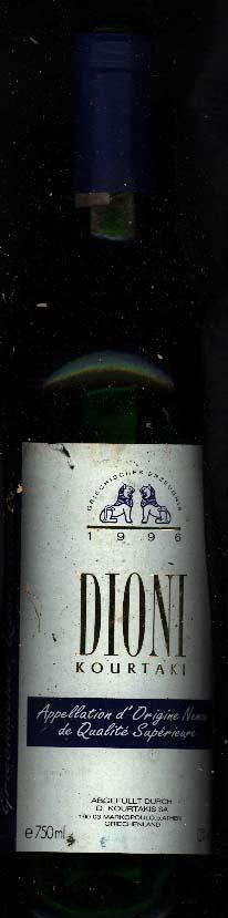 Dioni Kourtaki ( Greek Wine Cellars ) 2008