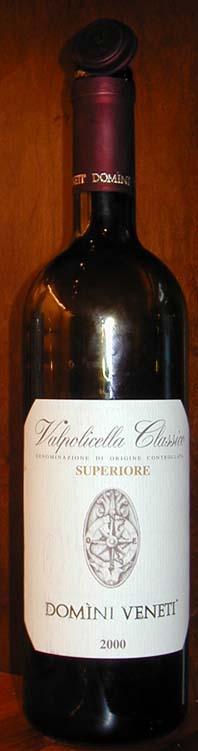 Valpolicella Classico Superiore ( Domìni Veneti ) 2000