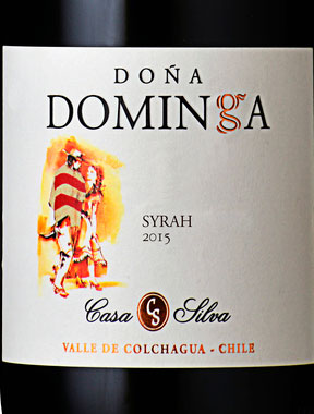Doña Dominga Syrah ( Casa Silva ) 2001