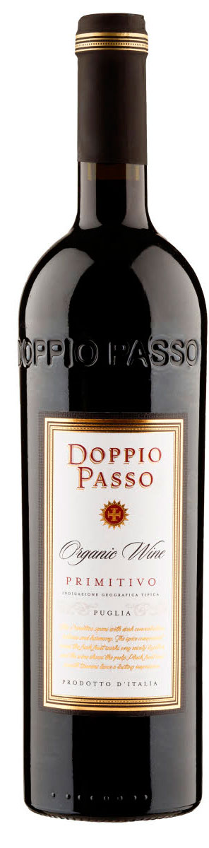 Doppio Passo Organic Primitivo ( Botter Family ) 2016