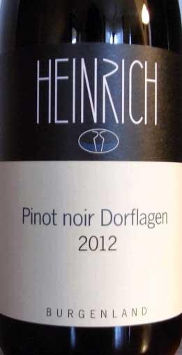 Dorflagen Pinot Noir ( Weingut Gernot und Heike Heinrich ) 2012
