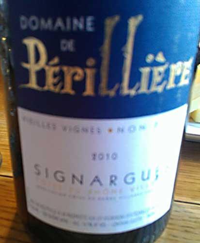 D. Périllière Sinargues Vieilles Vignes ( Les Vign. D`Estezargues ) 2010