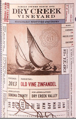Old Vine Zinfandel ( Dry Creek Vineyards ) 2014