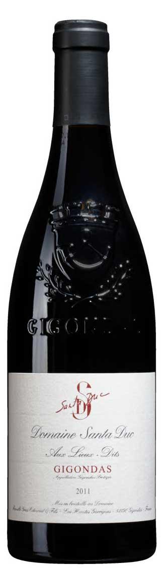 Gigondas ( Domaine Santa Duc ) 2003