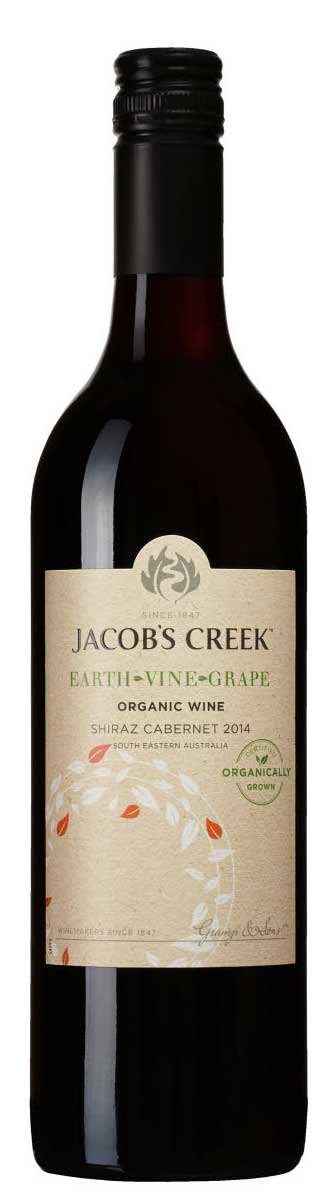 Earth Vine Grape Shiraz Cabernet Sauvignon ( Jacob`s Creek Wines  ) 2017
