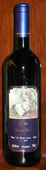 Egri Cabernet Franc ( Zwack ) 2000