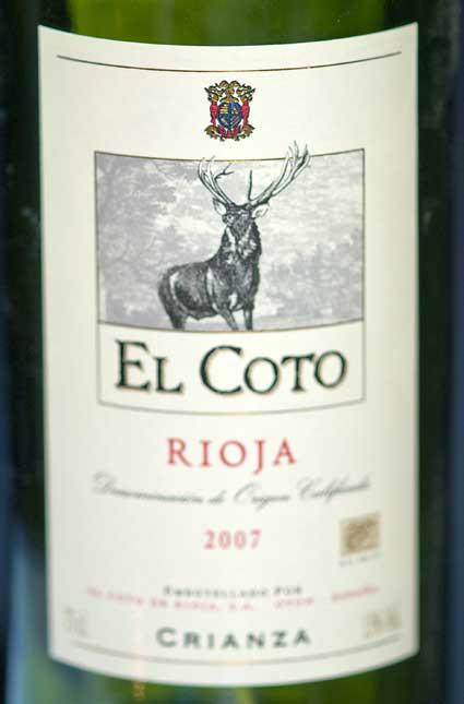Crianza ( El Coto de Rioja ) 2002