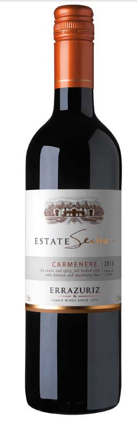 Estate Seires Carménère ( Errazuriz winery ) 2014