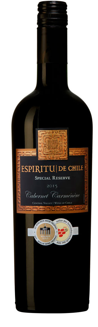 Espiritu de Chile Special Reserve Cabernet Carmenere ( Aresti ) 2016