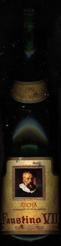 Faustino VII ( Bodegas Faustino ) 1992
