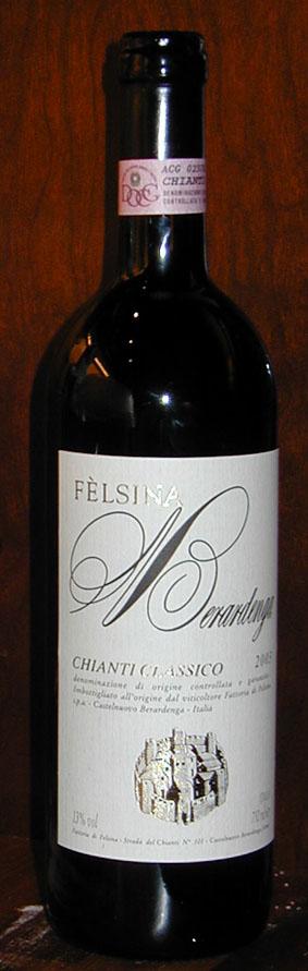 Chianti Classico Berardenga ( Fattoria di Felsina ) 2003