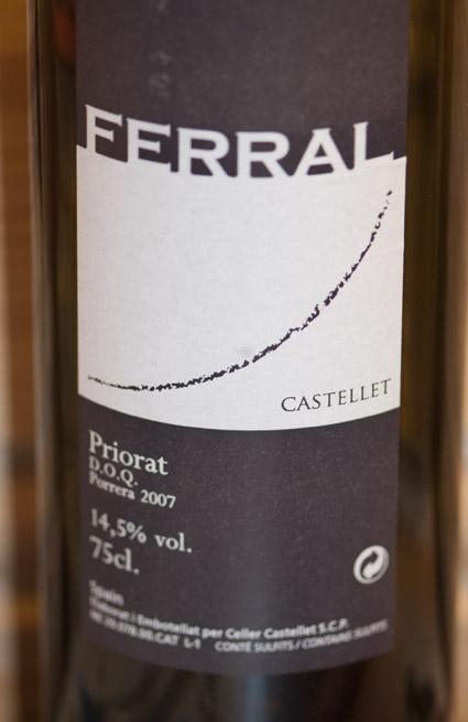 Ferral ( Celler Castellet ) 2007