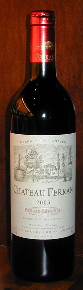 Château Ferran ( Château Ferran ) 2003