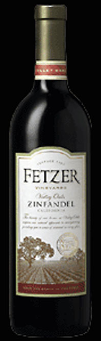 Valley Oaks Zinfandel ( Fetzer Vineyards ) 1996