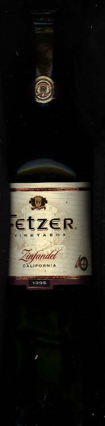 Valley Oaks Zinfandel ( Fetzer Vineyards ) 1995