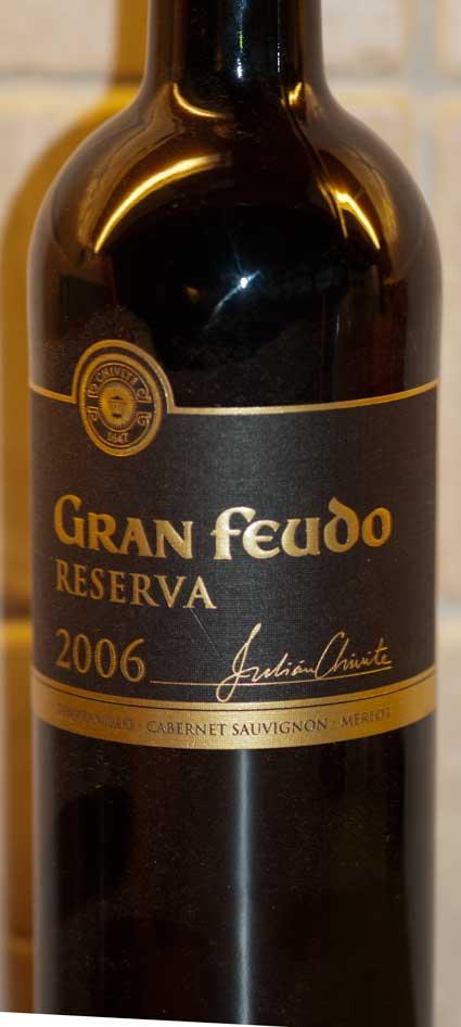 Gran Feudo Reserva ( Bodegas Julian Chivite ) 2009