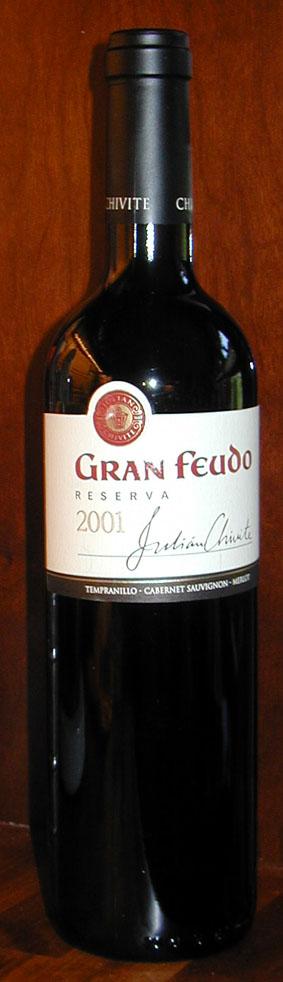Gran Feudo Reserva ( Bodegas Julian Chivite ) 2001