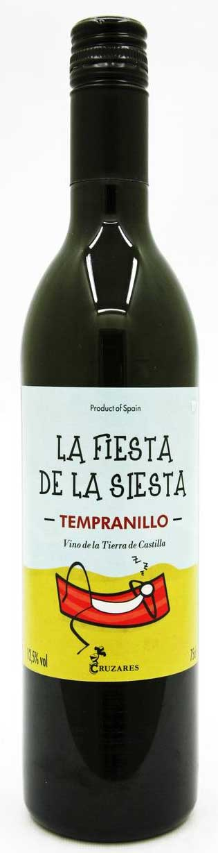 La Fiesta de la Siesta Tempranillo ( Cruzares ) 2013
