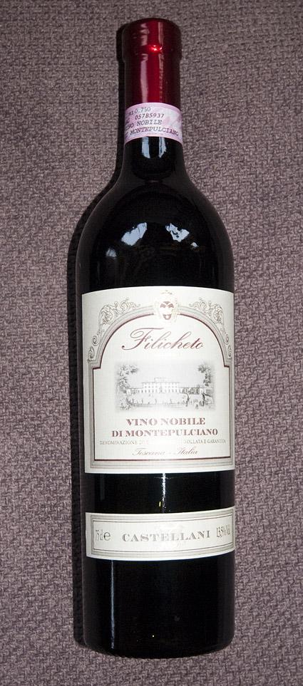 Vino Nobile di Montepulciano Filicheto ( Castellani ) 2013