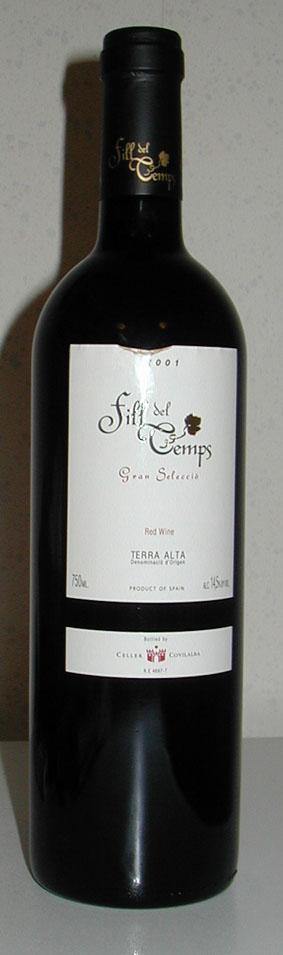 Fill del Temps Gran Selecció ( Celler Covilalba ) 2001