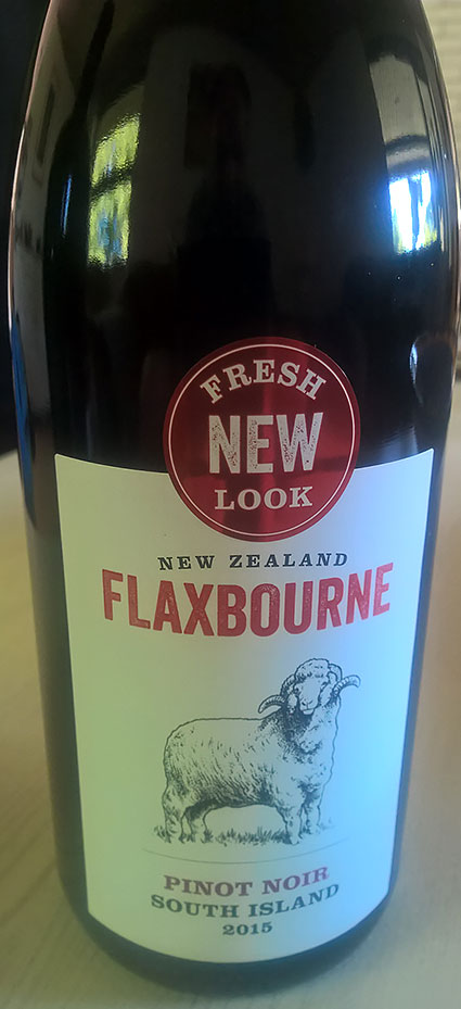 Flaxbourne Pinot Noir ( Yealands Estate Wines ) 2015